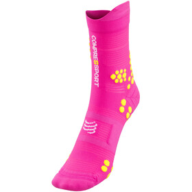Compressport Pro Racing V3.0 Trail Hardloopsokken roze